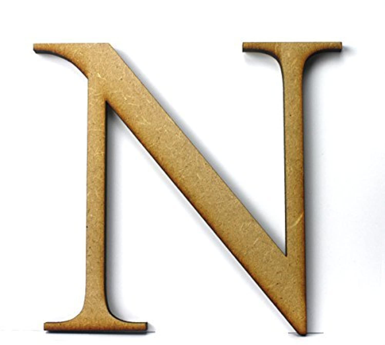 Individual wooden letter 145cm x 5mm thickness n for Individual wooden letters