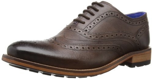Ted Baker Mens Guri 7 Brogue 9-12991 Brown 6 UK, 39 EU