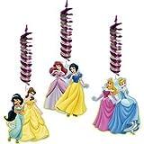 Disney Princess Hanging Decorations 3ct