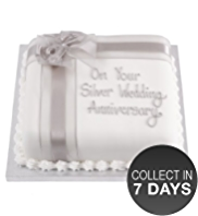Silver Lemon Celebration Cake