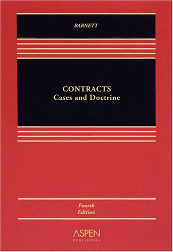 Contracts Cases & Doctrine