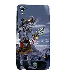 Vizagbeats shiva in graveyard Back Case Cover for HTC Desire 826::HTC Desire 826 Dual