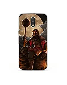 Moto g4 play nkt01 (62) Mobile Case by Mott2 - Hanuman Isolation