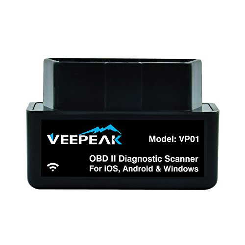 veepeak mini wifi obd2 obdii obd ii scanner scan tool. Black Bedroom Furniture Sets. Home Design Ideas