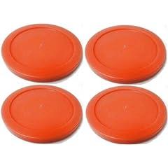 Buy 4 Red Round Air Hockey Pucks by Billiard Evolution