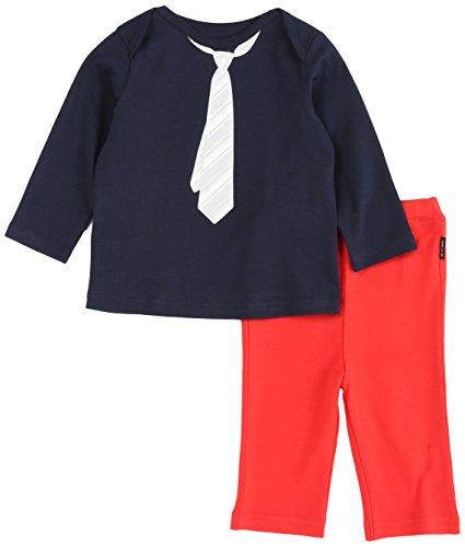(コムサイズム)comme ca ism ギフトボックス(【男の子】Tシャツ&パンツセット) 23-83WG03 09 ネイビー 80