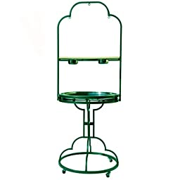 PARROT BIRD play pen stand gym PP 504 29D76H toy cage cages toy african grey conure (GREEN)