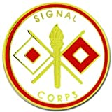 Signal Corps Lapel Pin or Hat Pin