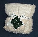 Laura Ashley Ivory Zebra Blanket