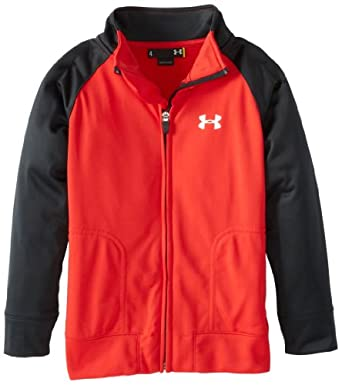 Amazon.com: Under Armour Little Boys' Track Jacket: Athletic Warm Up And Track Jackets: Clothing
