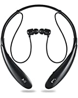 Bluetooth Headphones Wireless Stereo Headset with Earbuds By Audible Effects Sport Neckband Style , Premium Sound Quality , Light Weight Flexible Design , Won't Fall Out of Ears , Noise Cancellation , Hands Free Support , Siri and Google Voice Integration , Connects Two Devices Compatible with All Smartphones & Tablets. Don't Settle for Less Make the Superior Choice Now!