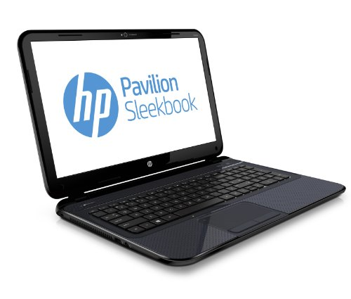 "HP Pavilion15-b132es Sleekbook - Portátil de 15.6"" (Intel Core i3 6 GB de RAM, 500 GB, Intel, Windows 8), negro, azul - Teclado QWERTY español"