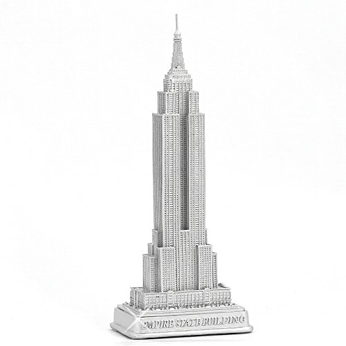 empire-state-building-statue-from-new-york-city-silver-9-inch-nyc-statues-collection