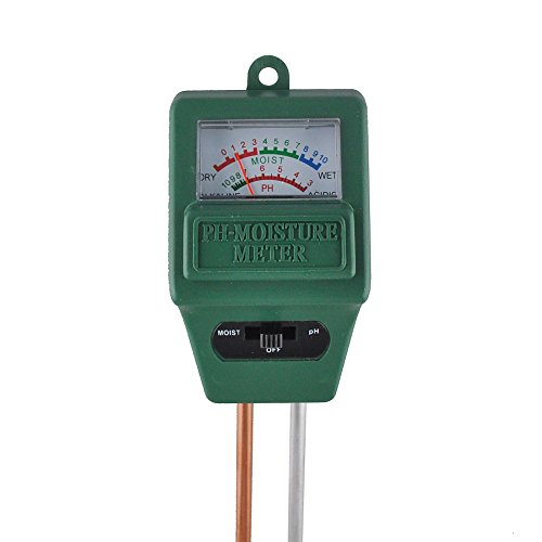 Sale!! ICEKEY Soil Moisture Meter pH Tester Light Meter(3 in 1)for Outdoor&Indoor Plants Gardens...