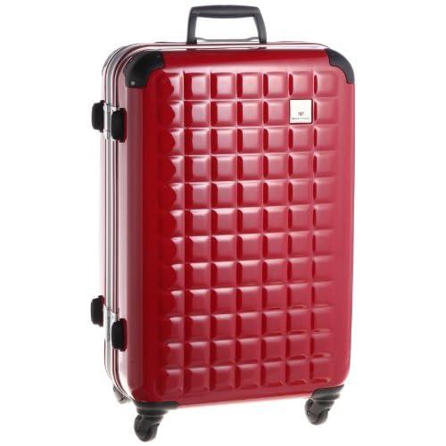 [ワールドトラベラー] World Traveler クオーク キャスターストッパー付 スーツケース63cm・64リットル  05992 10 レッド (レッド)