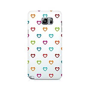 Ebby Colors of Love Premium Printed Case For Samsung Note 5