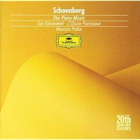 Schoenberg: F�nf Klavierst�cke - 4. Schwungvoll. M�ssige (Viertel)