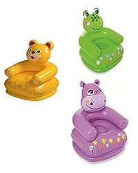 Bear Shape Intex Animal Chair Inflatable Toys