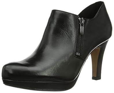 Clarks Amos Kendra, Damen Pumps, Schwarz (Black Leather), 35.5 EU