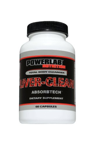 Powerlab Nutrition Liver-Clean with Absorbtech 60 caps