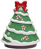Miles Kimball Ceramic Christmas Tree Cookie Jar
