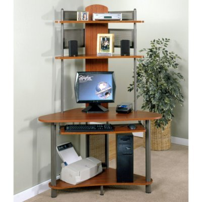 Buy Low Price Comfortable Studio RTA A-Tower Computer Desk – 60133 (B004DJ73B8)