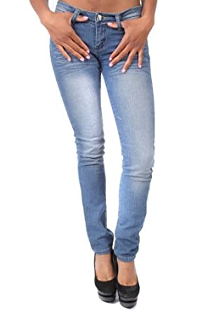 Touch Me Light Wash Jeans with Flap Pocket (5/6, Light Wash)