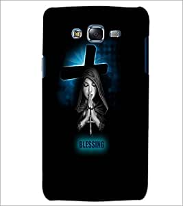 PrintDhaba Praying Girl D-3515 Back Case Cover for SAMSUNG GALAXY ON 7 (Multi-Coloured)