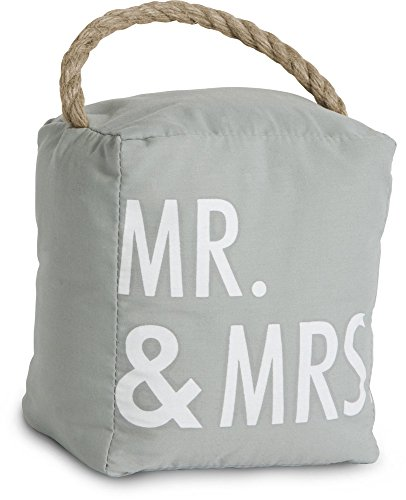 Pavilion Gift Company 72156 Mr. and Mrs. Door Stopper, 5 by 6-Inch