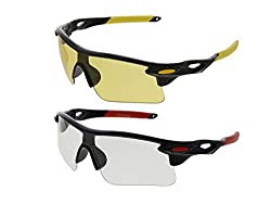 Vast Combo Of Day & Night Sport Unisex Sunglasses