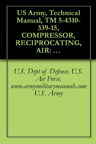 Us Army, Technical Manual, Tm 5-4310-339-15, Compressor, Reciprocating, Air: 15 Cfm, 175 Electric Motor Driven, (Ingersoll-Rand Model 242D7-1/2), (Fsn ... Military Manauals, Special Forces