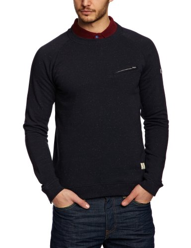 Weekend Offender Monaco Men's Jumper Navy Nep Small