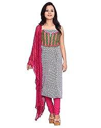 Chhipa 100% cotton Black salwar suit dupptta material