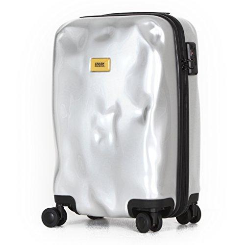 (クラッシュバゲージ) CRASHBAGGAGE スーツケース 40L CB111 シルバーメダル(21)