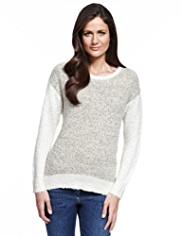 M&S Collection Panelled Jumper