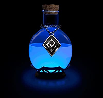 Electric LED Potion Desk Lamp Changing Color. Tap to Choose Color Mode. Nice to Decorate a Room or Put on a Table. For fans of RPG of all types and fans of chemistry. Great Unique Gift.