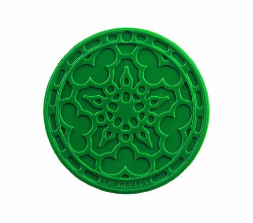Le Creuset Silicone French Coasters, Set of 4 (Fennel)