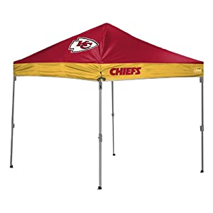 NFL Kansas City Chiefs 10x10 Straight Leg Canopy