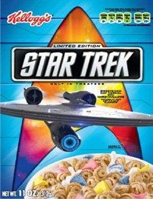 Kellogg's Limited Edition Star Trek Sweetened Oat Cereal 11 oz.