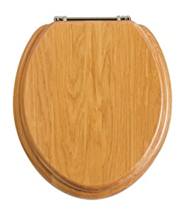 Heritage oak Toilet Seat       review