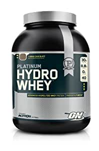 Optimum Nutrition 100% Platinum Hydro Whey Turbo Chocolate 3.5 lb Supports Muscle Recovery