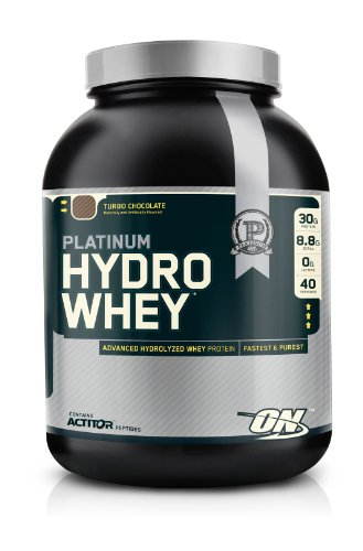 Optimum Nutrition 100% Platinum Hydro Whey Turbo Chocolate 1.75 Protein