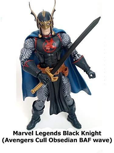Clip: Marvel Legends Black Knight (Avengers Cull Obsidian BAF wave)