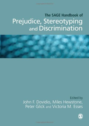 discuss the nature of prejudice in Prejudice, stereotyping and discrimination: theoretical  terly volume, the nature of prejudice,  prejudice, stereotypes, or stereotyping in the abstract (data.