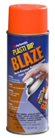 Performix 11218 Plasti Dip Blaze Orange Multi-Purpose Rubber Coating Aerosol - 11 oz.