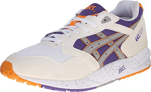 Onitsuka Tiger by Asics Unisex Gel-Saga? White/Light Grey Sneaker Men's 11.5 Medium