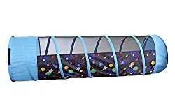 Pacific Play Tents 41410 Galaxy 6 Ft Tunnel w Glow in the Dark Stars Toy