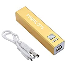 Paracops 2600mAh USB Power Bank - Gold