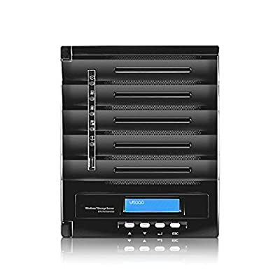 """Thecus W5000+ 5Bay Windows NAS Server 5x 3,5"""" SATAIII, 2xGBLAN, 4GB, W5000+ (5x 3,5 SATAIII, 2xGBLAN, 4GB Windows Storage Server 2012 R2 Essential)"""