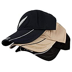Copperzeit Trendy Set of 3 premium cotton Sports/ casual caps for Men/ Women (Colors might vary but same style)